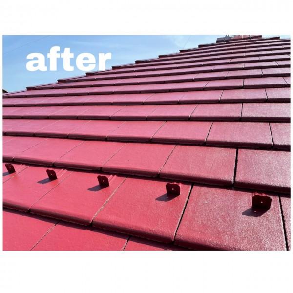 屋根塗装仕上がりました✨