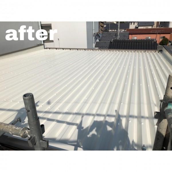 屋根塗装完成!!