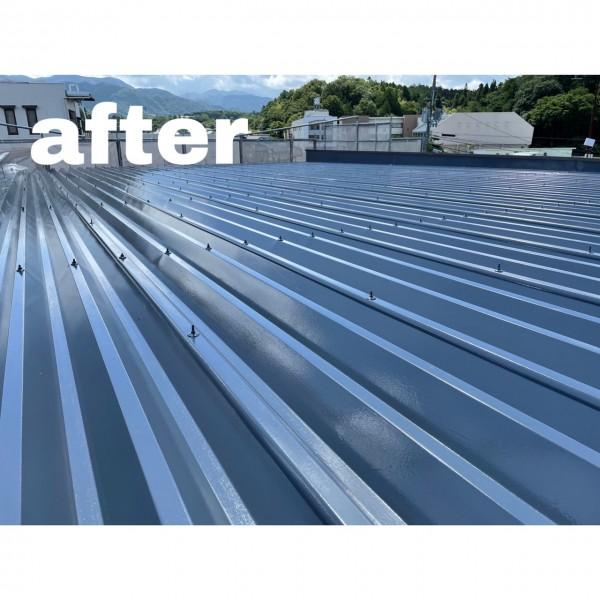 屋根塗装完了!!