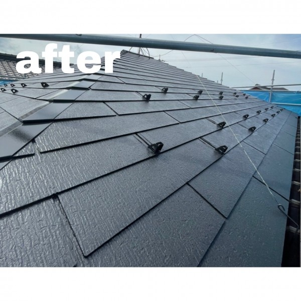 屋根塗装🏡